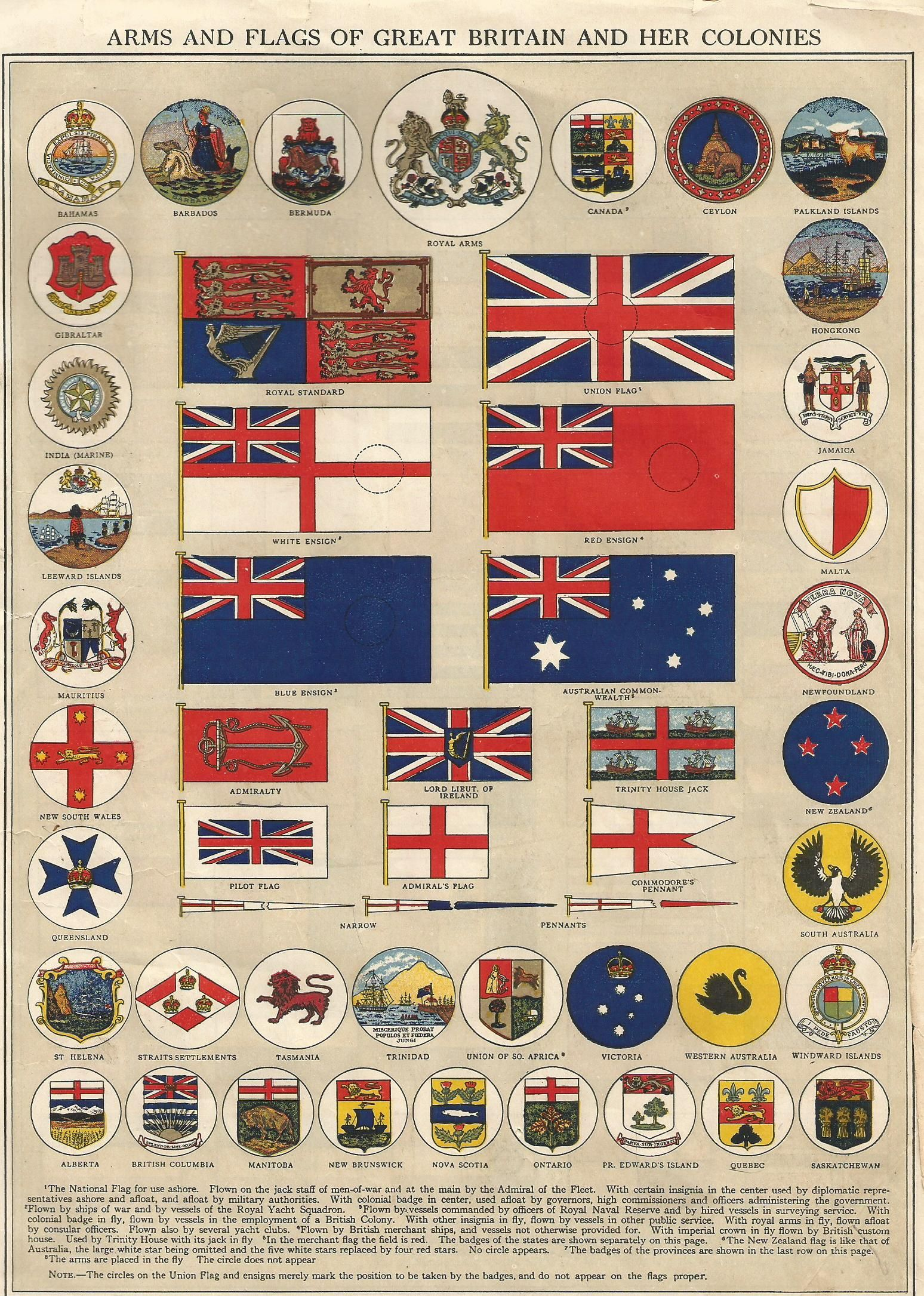 history of world guide flag