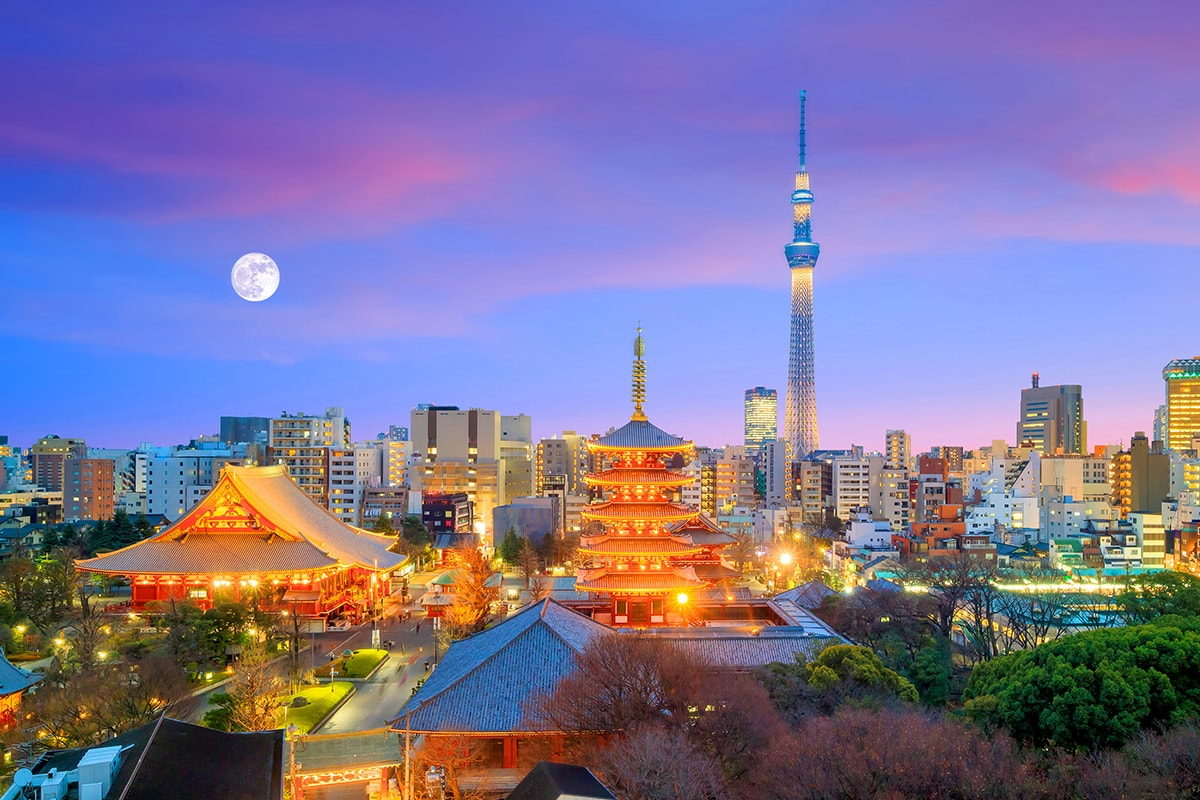 best guided tours of japan