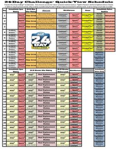 advocare 24 day challenge daily guide