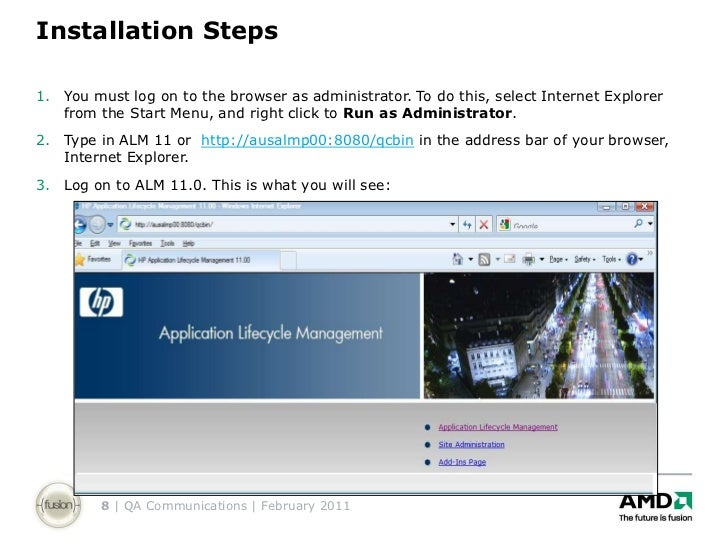 hp alm 11 installation guide