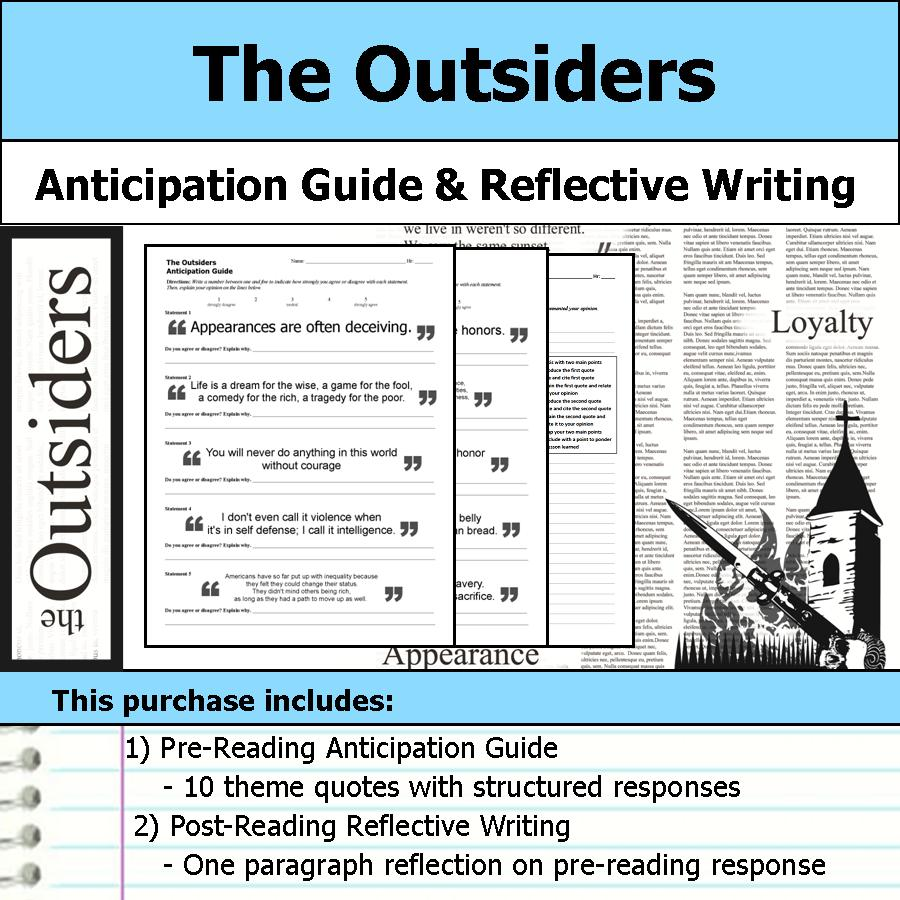 a guide to the outsiders