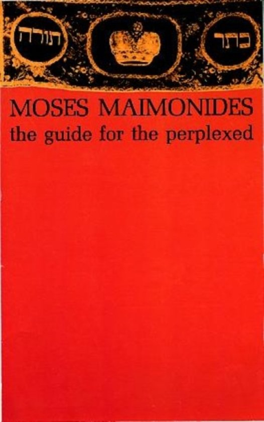 maimonides guide of the perplexed full text