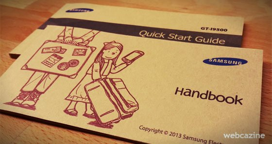 samsung galaxy s4 quick start guide