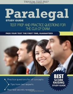 certified paralegal exam study guide