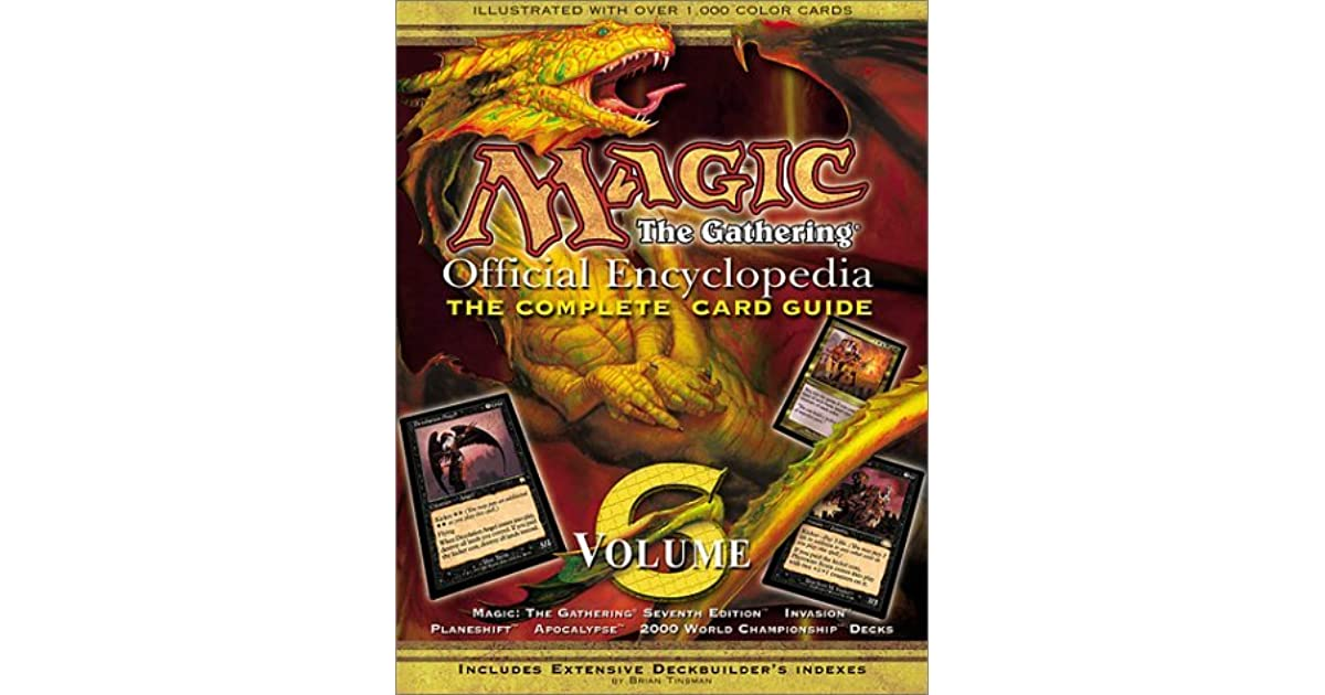 magic the gathering guide book