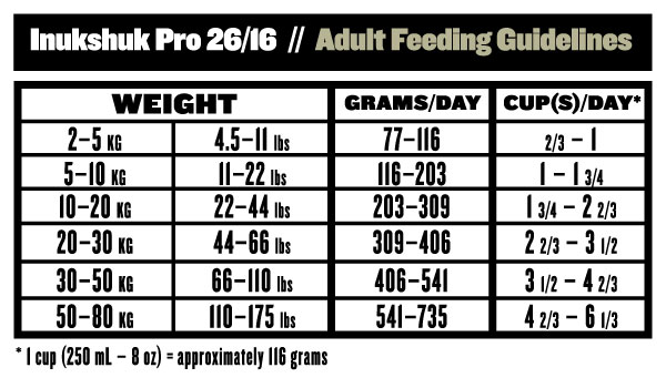 beef pro puppy feeding guide