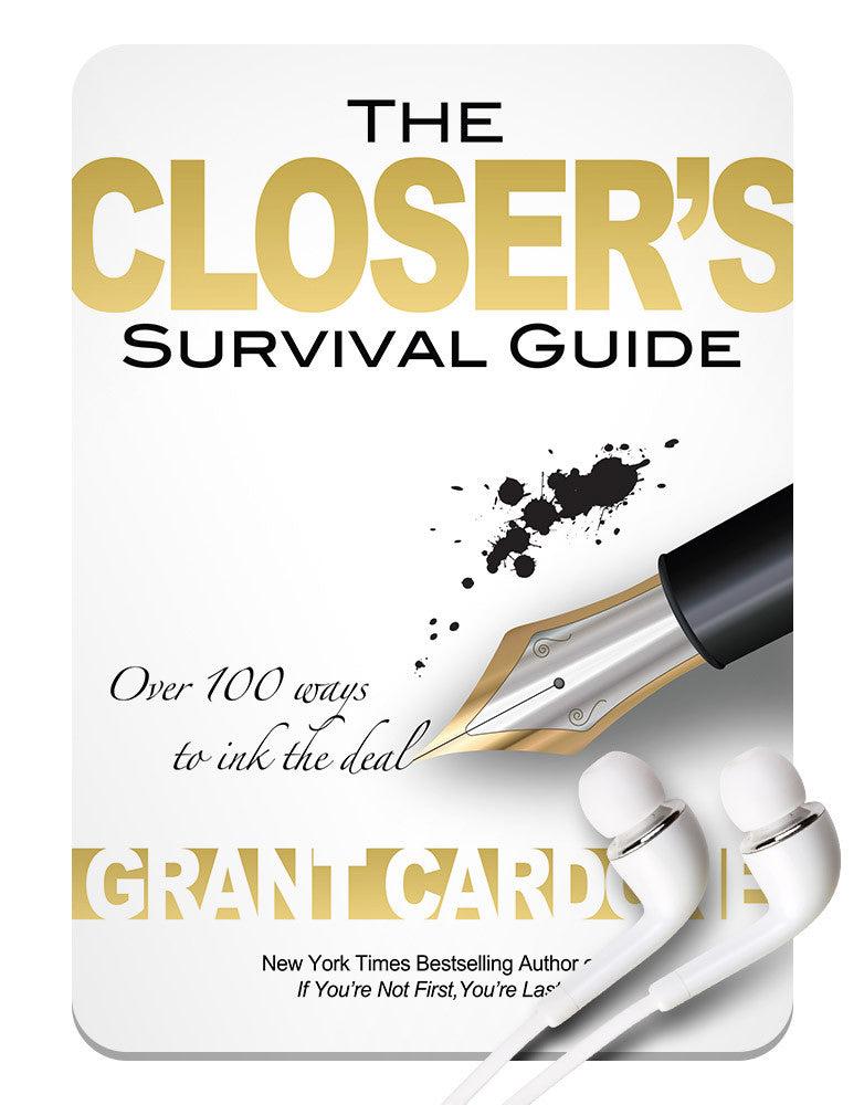grant cardone closers survival guide