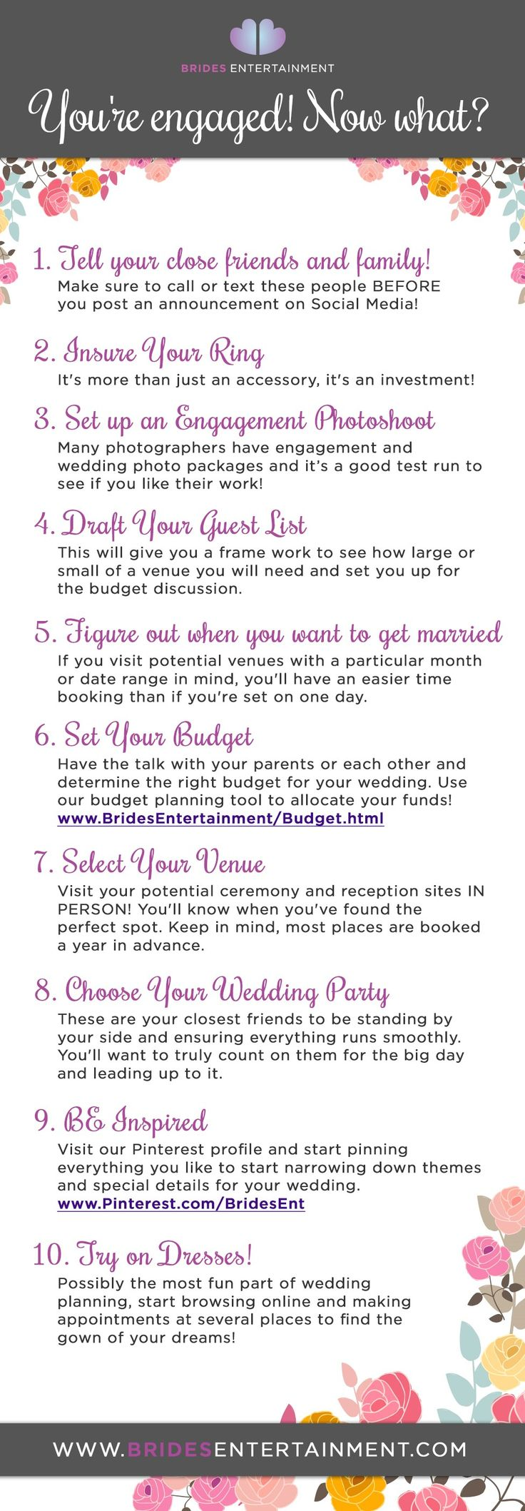 guide to planning your own wedding