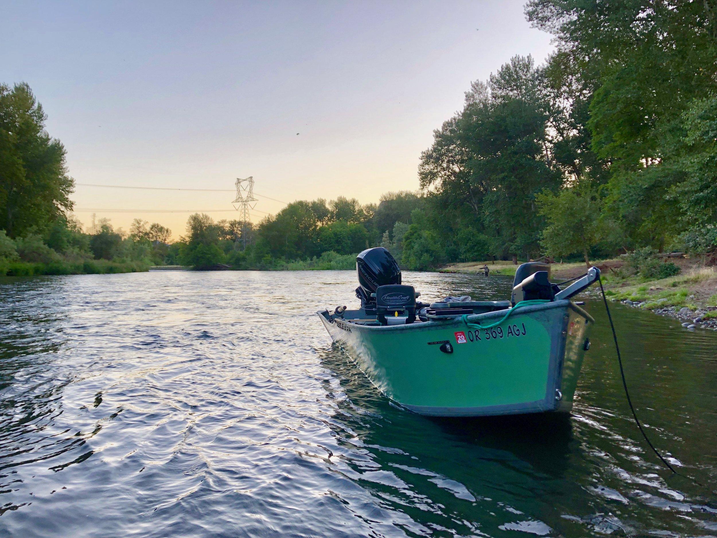 guided fishing trips in oregon