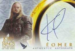 lord of the rings trading cards price guide