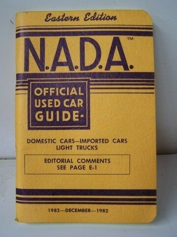 nada guide book used rv prices