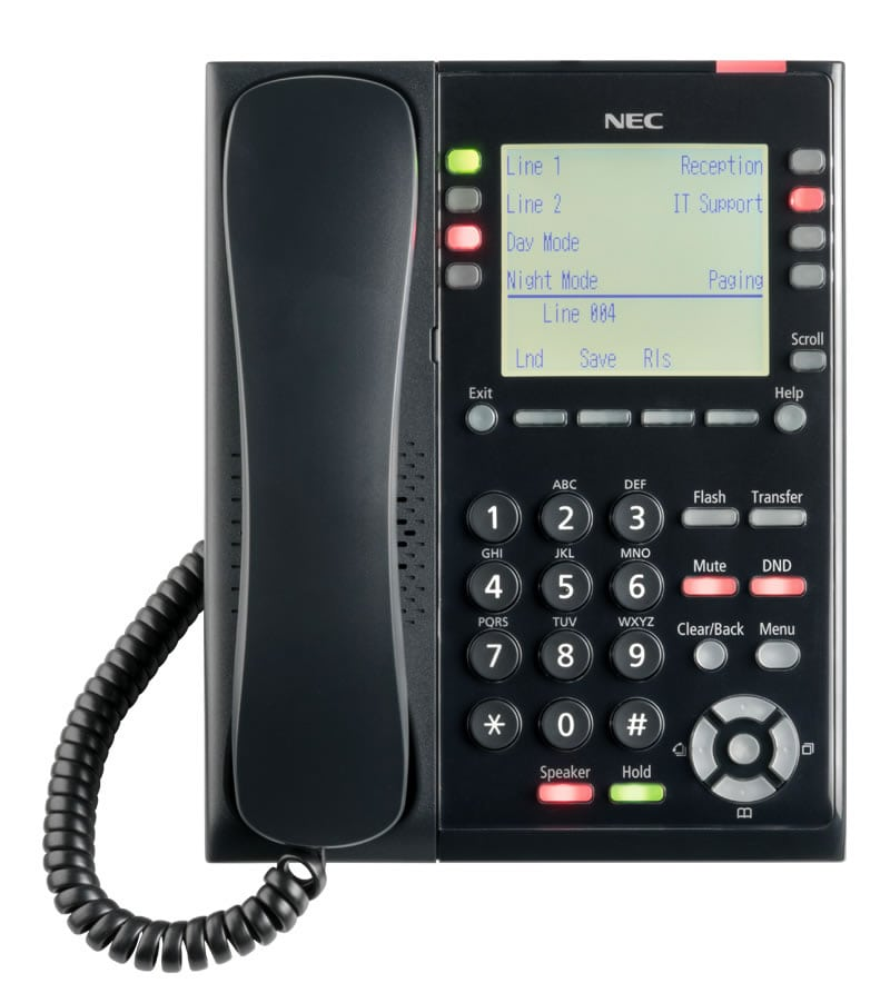 nec multiline telephone user guide
