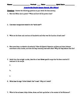 night by elie wiesel study guide pdf